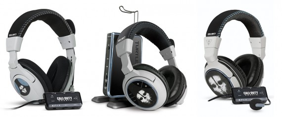 Turtlebeach Call of Duty Ghosts Headsets