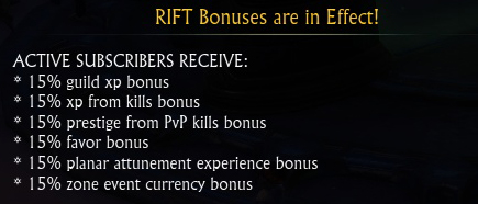 in game bonuses
