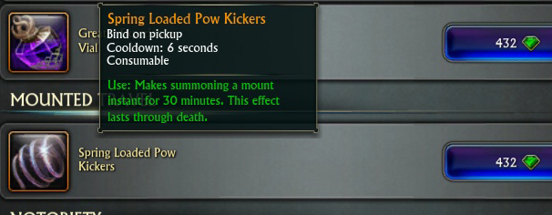 spring loaded pow kickers