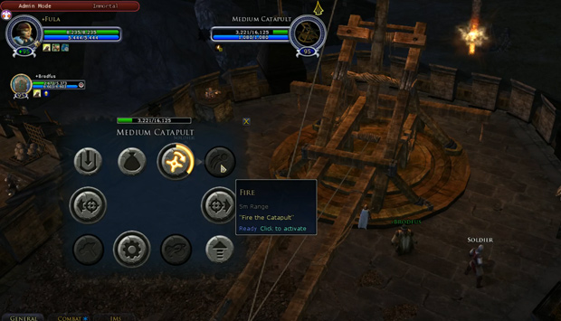 LOTRO Epic Battles Catapult Operation