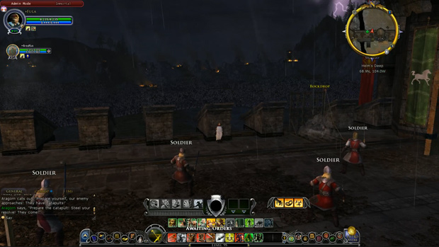LOTRO Epic Battle View