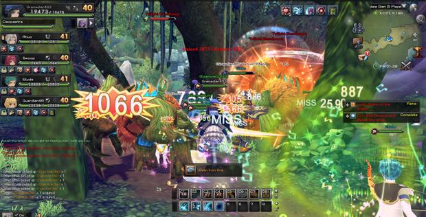 Aura Kingdom Combat Fluidity