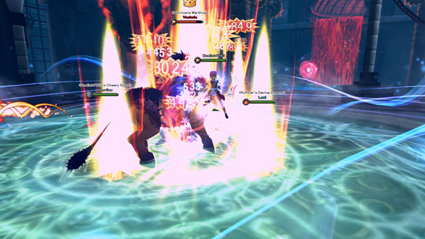 Aura Kingdom Attack Blowback