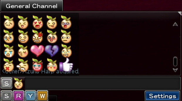 Aura Kingdom Chat Emotes