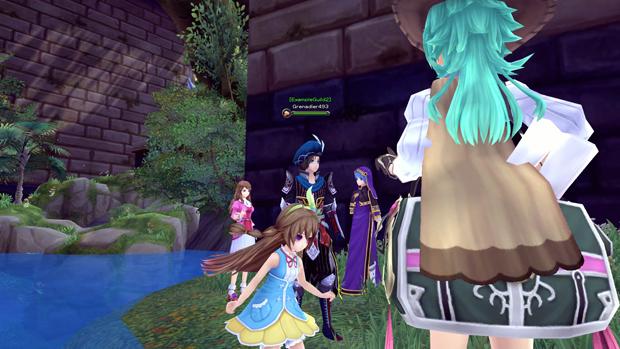 Aura Kingdom Town NPCs