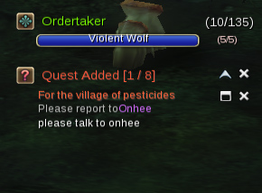 Yulgang II Quest Tracker
