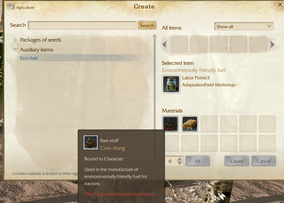 ArcheAge Preview Crafting