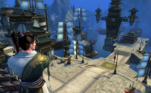 Perfect World Announces Swordsmam, A Martial Arts-inspired MMORPG