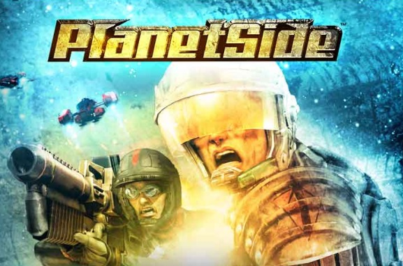 PlanetSide Splash