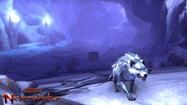 Neverwinter Icewind Dale Dire Wolf
