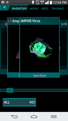 Ingress Mobile Review Items