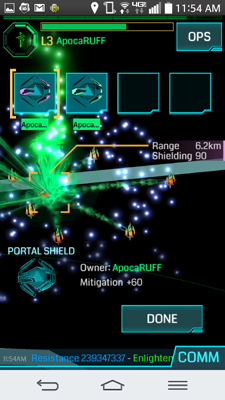 Ingress Mobile Review Mods