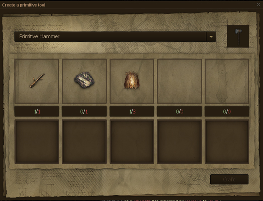 Life is Feudal Preview Crafting
