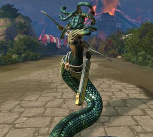 SMITE Medusa 1
