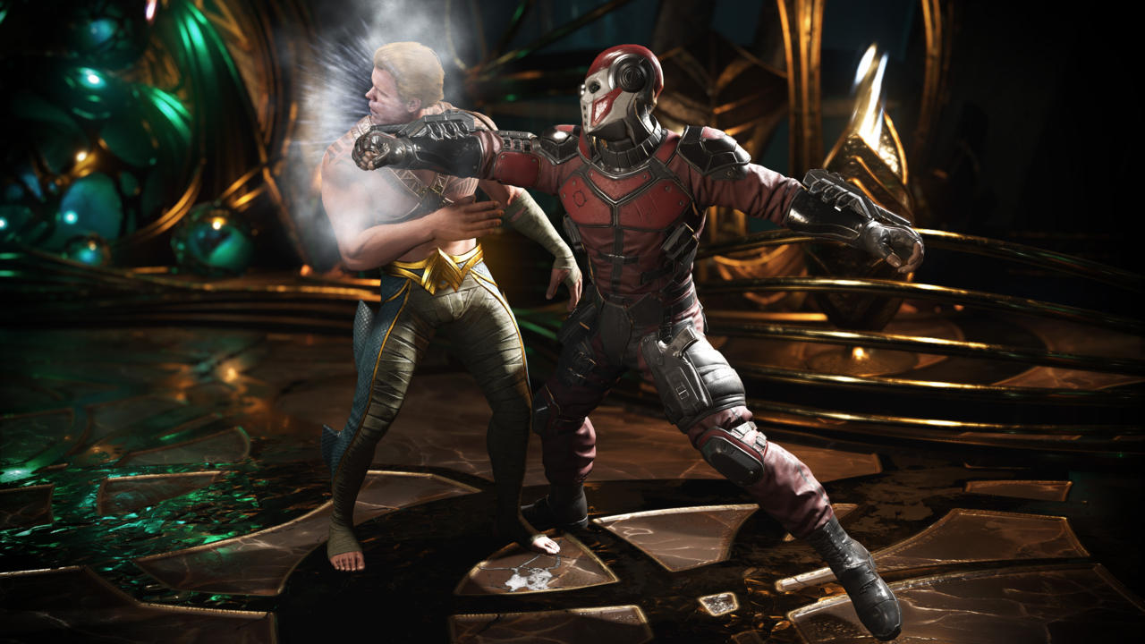 Injustice 2, the best-selling game of May 2017.